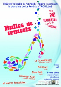 Bulles de concertA6
